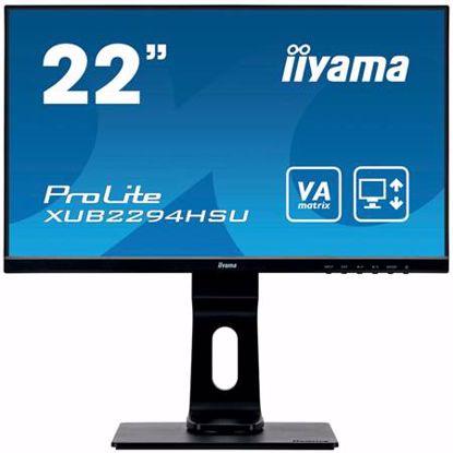 """Fotografija izdelka IIYAMA PROLITE XUB2294HSU-B1 54,6cm (21,5"""") FHD VA zvočniki LED LCD monitor"""
