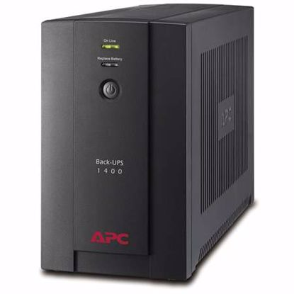 Fotografija izdelka APC BACK-UPS BX1400U-GR 1400VA AVR 700W UPS brezprekinitveno napajanje