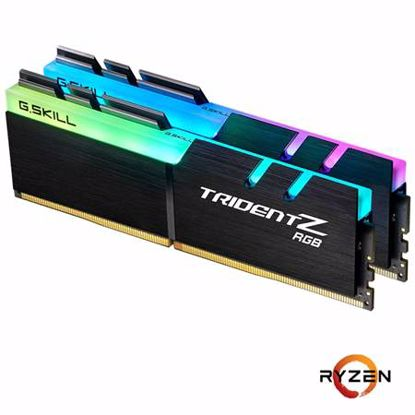 Fotografija izdelka G.SKILL Trident Z RGB 16GB (2x8GB) 3600MHz DDR4 RGB (F4-3600C18D-16GTZRX) ram pomnilnik