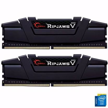 Fotografija izdelka G.SKILL Ripjaws V 16GB (2x8GB) 3600MHz DDR4 CL18-22-22-42 (F4-3600C18D-16GVK) ram pomnilnik