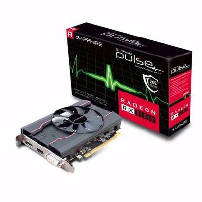 Fotografija izdelka SAPPHIRE Radeon RX 550 2GB GDDR5 (11268-16-20G) lite grafična kartica
