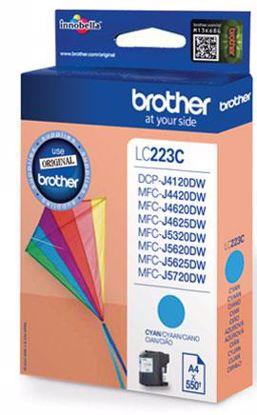 Fotografija izdelka Brother Kartuša LC223C, cyan, 550 strani MFC-J4620DW