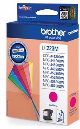 Fotografija izdelka Brother Kartuša LC223M, magenta, 550 strani MFC-J4620DW