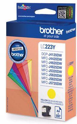 Fotografija izdelka Brother Kartuša LC223Y, yellow, 550 strani MFC-J4620DW