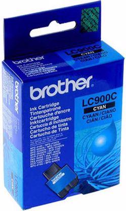 Fotografija izdelka Brother Kartuša LC900C, cyan, 400 strani MFC3240/3340/5440/840 FAX1835DCP110/5/20