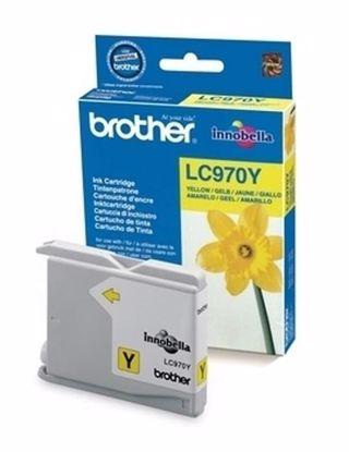 Fotografija izdelka Brother Kartuša LC970Y, yellow, 300 strani DCP135/150/235 MFC235/263