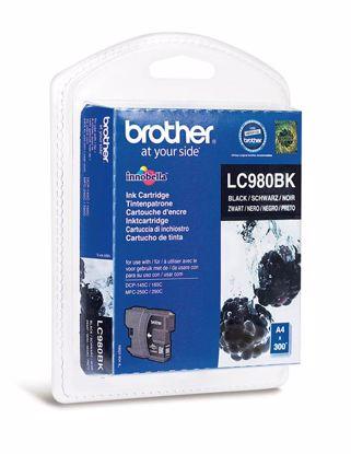 Fotografija izdelka Brother Kartuša LC980B, črna, 300 strani DCP145C/165C/195C/375 MFC250C/290C