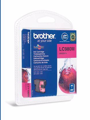 Fotografija izdelka Brother Kartuša LC980M, magenta, 260 strani DCP145C/165C/195C/375 MFC250C/290C
