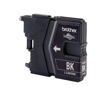 Fotografija izdelka Brother Kartuša LC985BK, črna, 300 strani DCPJ125C/J315W/J515W