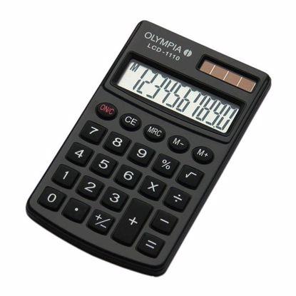 Fotografija izdelka Olympia Kalkulator LCD-1110 črn
