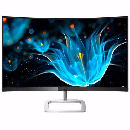 Fotografija izdelka Monitor LED Philips 278E9QJAB/00, E-line, 27'' 1920x1080@60Hz, 16:9, Curved 1800R, VA, 4ms, 250nits, Speakers 3W, Black/Silver , 2 Years, VESA100x100/VGA/HDMI/DP/
