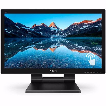Fotografija izdelka Monitor LED PHILIPS 222B9T/00, Touch 10 points, 21.5'', 1920x1080, TN, 250cd/m2, 1ms, VGA/DVI/DP/HDMI/USB, speakers
