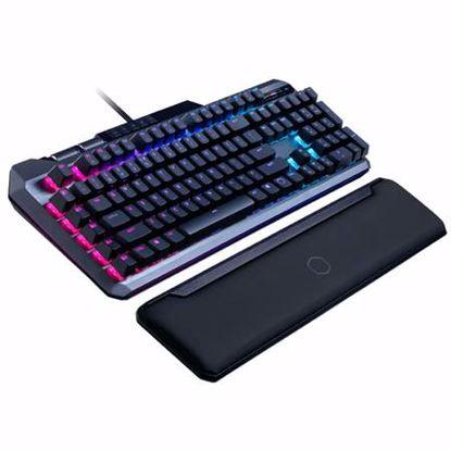 Fotografija izdelka COOLER MASTER MK850 žična MXRed RGB osvetlitev slo tisk mehanska gaming tipkovnica