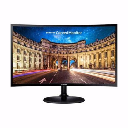 "Fotografija izdelka Monitor Samsung C24F390FHU, 23,5"", VA, CURVED, 16:9, 1920x1080, HDMI, VESA"