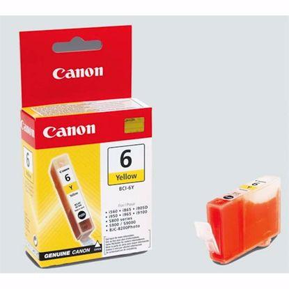 Fotografija izdelka ČRNILO CANON BCI-6 RUMENO, 13ml ZA S800 / S9000 / S820 / S900 / S830D / i9100