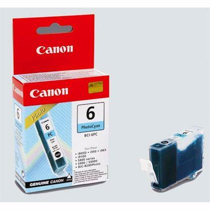 Fotografija izdelka ČRNILO CANON BCI-6 FOTO CYAN, 13 ml ZA i990 / i9950 / PIXMA iP8500