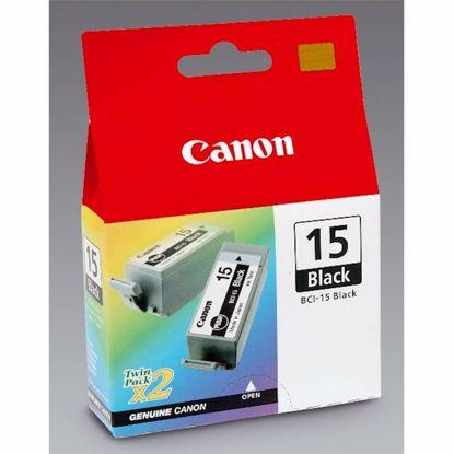 Fotografija izdelka ČRNILO CANON BCI-15 ČRNO ZA I70/I80/PIXMA IP90, 450 STRANI