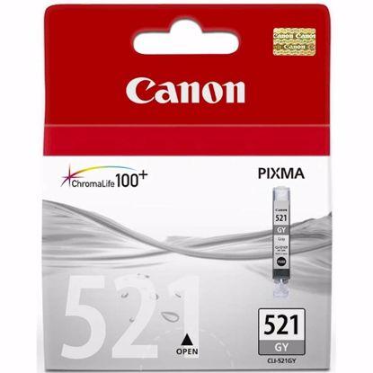 Fotografija izdelka ČRNILO CANON CLI-521 SIVO ZA IP3600/4600/MP540/MP620 ZA 12ml