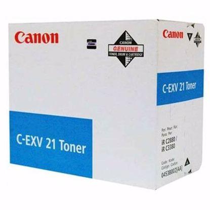 Fotografija izdelka TONER CANON CEXV21 CYAN (0453B002AA)