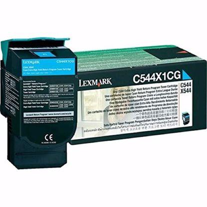 Fotografija izdelka TONER LEXMARK CYAN C544, X544 ZA 4.000 STRANI
