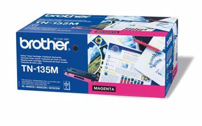 Fotografija izdelka Brother Toner TN135M, magenta, 4.000 strani HL4040/50/70 DCP9040/2/5 MFC9440/50/9850