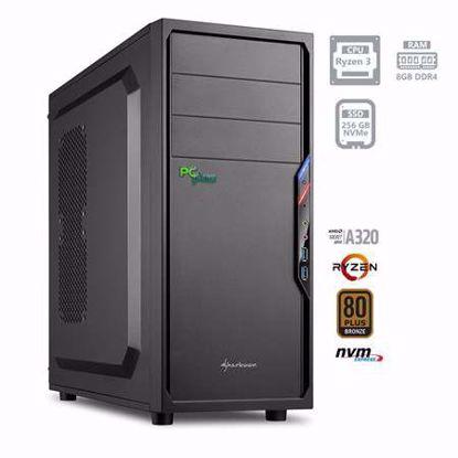 Fotografija izdelka PCPLUS i-net AMD Ryzen 3 3200G 8GB 256GB NVMe SSD W10