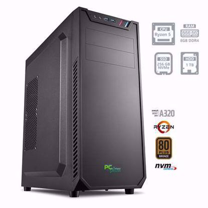 Fotografija izdelka PCPLUS Magic AMD Ryzen 5 3400G 8GB 256GB NVMe SSD 1TB HDD W10PRO