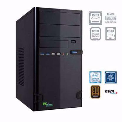 Fotografija izdelka PCPLUS e-office i7-9700 8GB 256GB NVMe SSD 1TB HDD W10