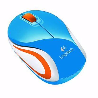Fotografija izdelka LOGITECH M187 brezžična optična mini modra miška