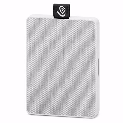 Fotografija izdelka SEAGATE 500GB SSD USB 3.0. One Touch bel