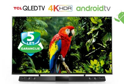 "Fotografija izdelka QLED TV TCL 55X815 55"" (diagonala 140cm) 4K Quantum Dot, Android, Smart WiFi, HDR Premium, Ultra Micro Dimming, 10bit, Onkyo, Voice Search"