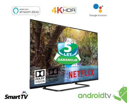 """Fotografija izdelka LED TV TCL 50"""" (diagonala 127cm) 50EP680, 4K-UHD, HDR Pro, Android 9.0, Pameten, WiFi, 10bit, Micro Dimming,  Wide Color Gamut, Dolby Vision, Ultra tanko metalno ohišje"""