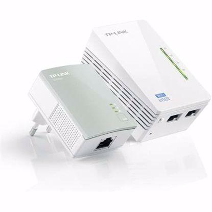 Fotografija izdelka TP-LINK TL-WPA4220KIT AV600 300Mbps brezžični powerline starter kit adapter