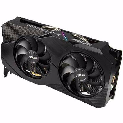 Fotografija izdelka ASUS Dual GeForce RTX 2060 OC EVO 6GB GDDR6 (DUAL-RTX2060-O6G-EVO) gaming grafična kartica