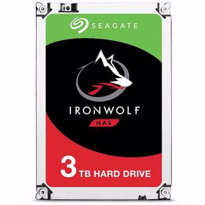 Fotografija izdelka SEAGATE IronWolf NAS 3TB 3,5'' SATA3 64MB 5900rpm (ST3000VN007) trdi disk