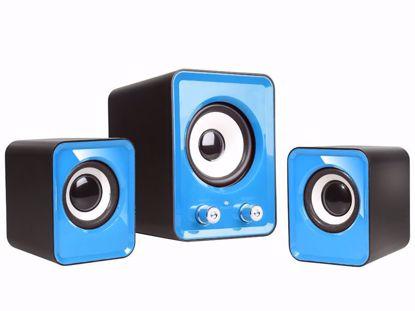 Fotografija izdelka Zvočniki TRACER 2.1 Omega Blue USB