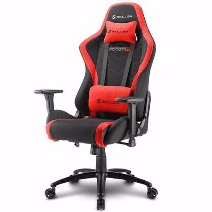 Fotografija izdelka SHARKOON SKILLER SGS2 črn/rdeč gaming stol