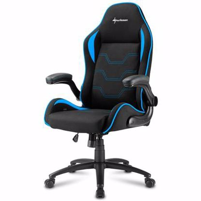 Fotografija izdelka SHARKOON ELBRUS 1 črna/modra gaming stol