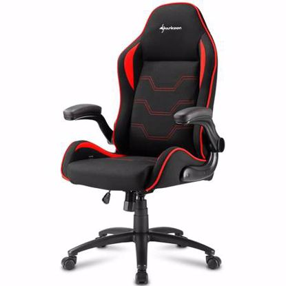Fotografija izdelka SHARKOON ELBRUS 1 črna/rdeča gaming stol