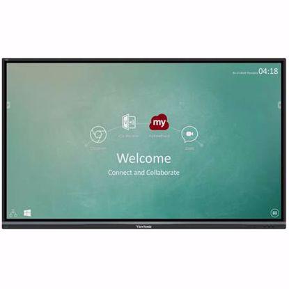 Fotografija izdelka VIEWSONIC ViewBoard IFP7550-2EP 190,5cm (75'') UHD 4K na dotik zvočnik interaktivni zaslon