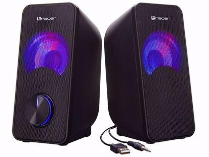 Fotografija izdelka Zvočniki TRACER 2.0 Loop RGB USB