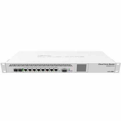 Fotografija izdelka MIKROTIK CCR1009-7G-1C-1S+ 8-port gigabit 1xSFP+ PoE 1U rack usmerjevalnik