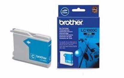 Fotografija izdelka Brother Kartuša LC1000C, cyan, 400 strani DCP130/330c MFC240C