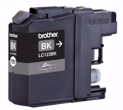 Fotografija izdelka Brother Kartuša LC123BK, črna, 600 strani MFC-J4510DW, MFC-J4610/4710, DCP-J4110