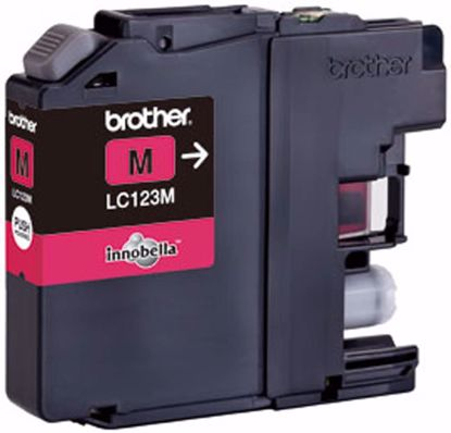 Fotografija izdelka Brother Kartuša LC123M, magenta, 600 strani MFC-J4510DW, MFC-J4610/4710, DCP-J4110