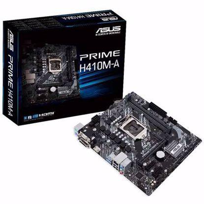 Fotografija izdelka ASUS PRIME H410M-A LGA1200 (10th-gen) mATX DDR4 matična plošča