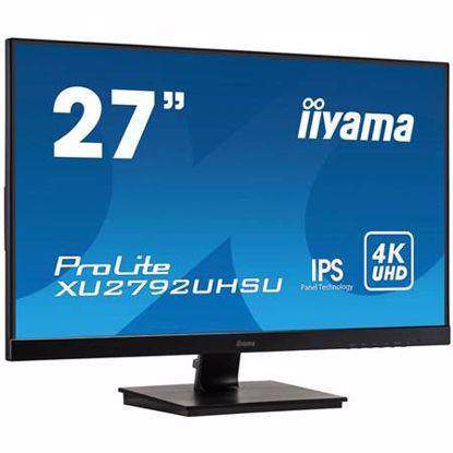 "Fotografija izdelka IIYAMA ProLite XU2792UHSU-B1 68,58cm (27"") IPS 4K USB zvočniki LED LCD monitor"