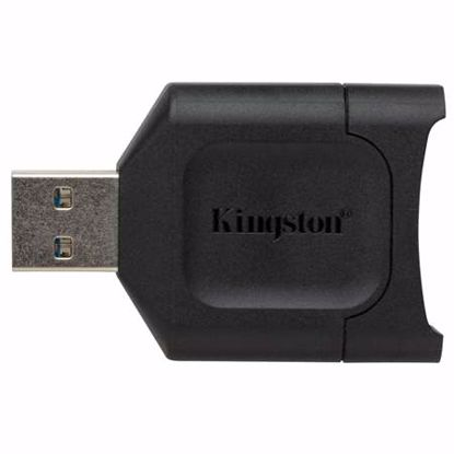 Fotografija izdelka KINGSTON MobileLite Plus SD UHS-II USB 3.2 Gen 1 čitalec