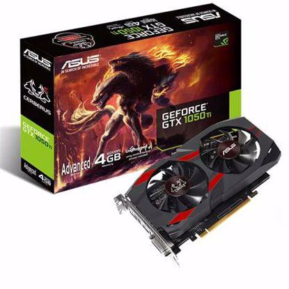 Fotografija izdelka ASUS CERBERUS GeForce GTX 1050 TI Advanced Edition 4GB GDDR5 (CERBERUS-GTX1050TI-A4G) grafična kartica