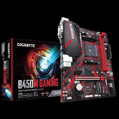 Fotografija izdelka GIGABYTE B450M GAMING, DDR4, SATA3, USB3.1Gen1, HDMI, AM4 mATX